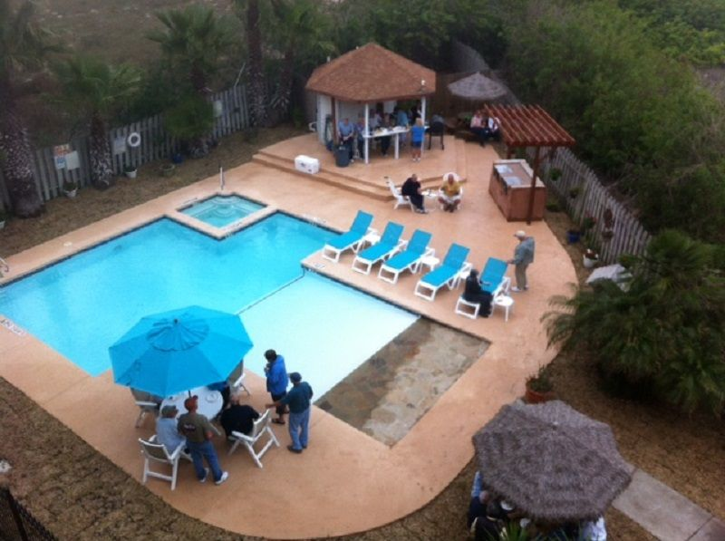 New Pool Decking and BBQ Area